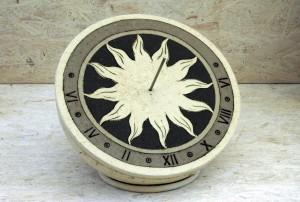 """Sonnenuhr """"Schwarz-Weiß"""" Dm 23 cm"""